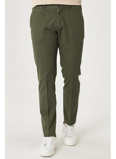 Beymen Business Slim Fit Pantolon 4B0120100032 Yeşil